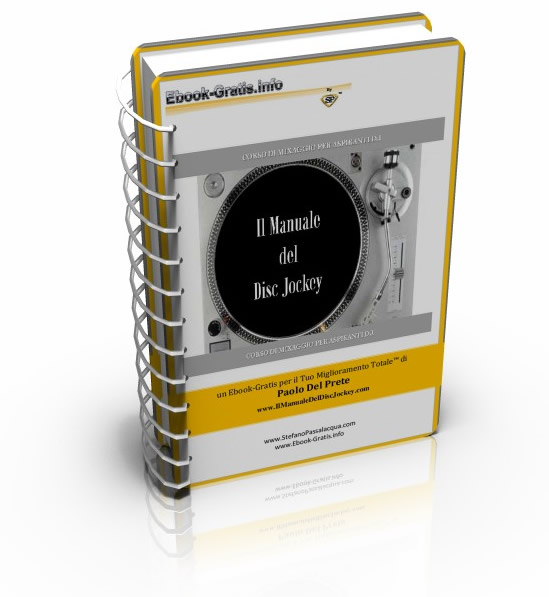 IL MANUALE DEL DJ ebook version