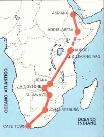 Da Cape Town ad Asmara