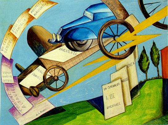 CENSIMENTO FUTURISTA Anno 1936
