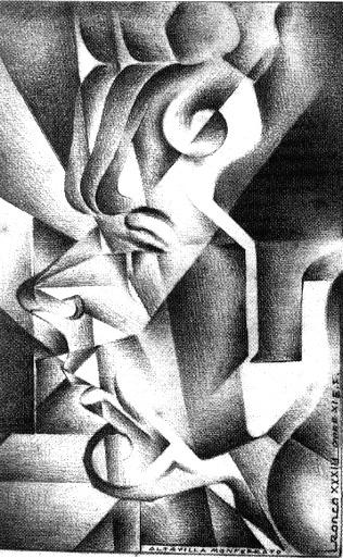 AUTORITRATTO DINAMICO 1936