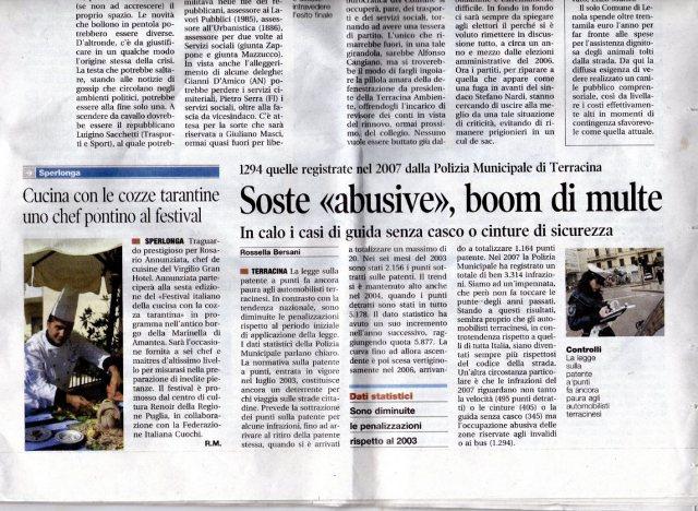 giornale roma uno chef pontino