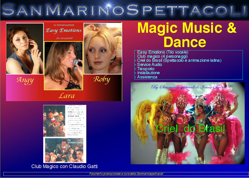 Magic music & Dance