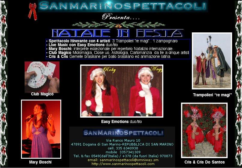 Natale 2007 in festa !!!!
