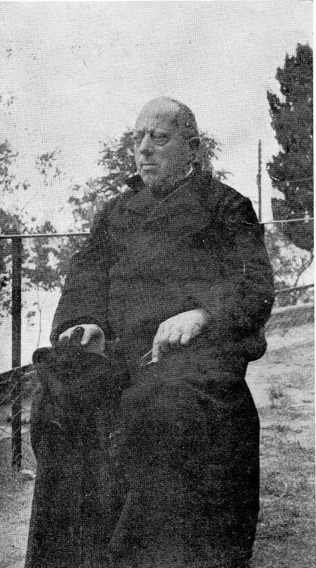 Don Gorziglia parroco (1937)