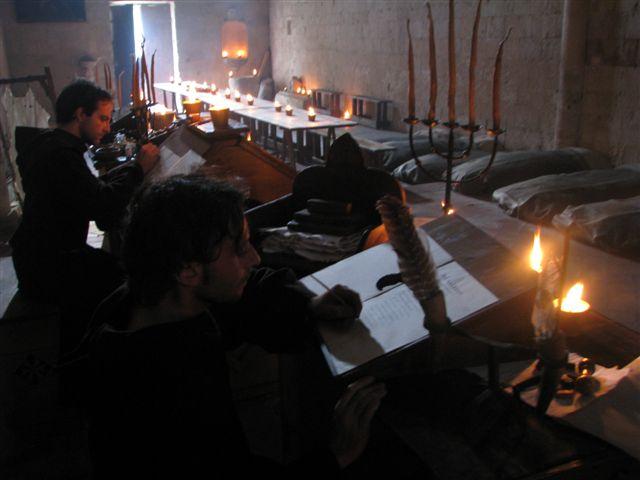 lo scriptorium