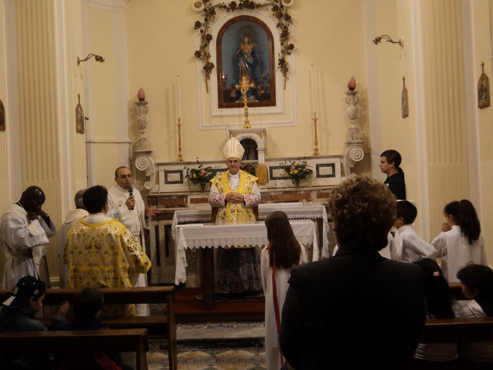 Ingresso di Don Giovanni e il nuovo diacono Raffaele