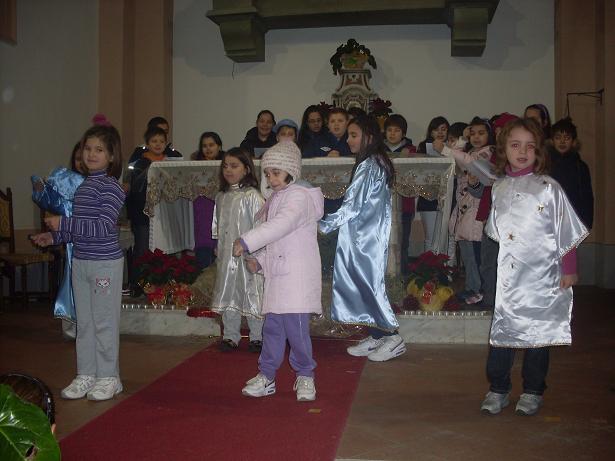 Recita dei bambini del Catechismo