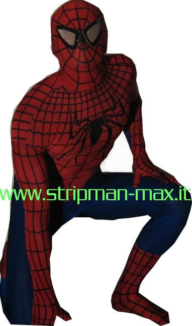 stripman max spogliarellista streapman addio al nubilato spiderman uomo ragno
