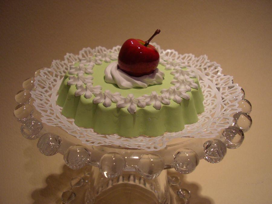 tortina verde con meletta