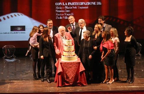 torta commemorativa per Ugo Tognazzi