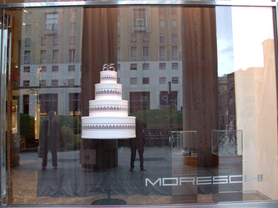 boutique Moreschi  - Milano  San Babila
