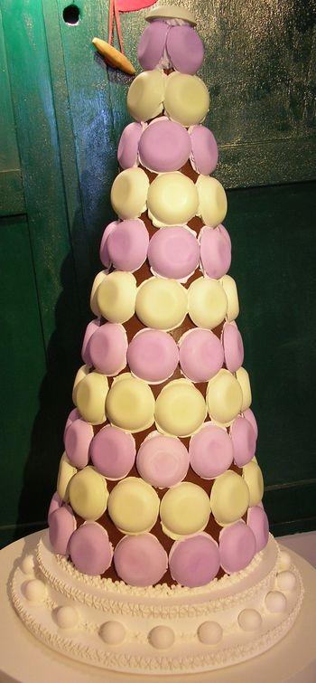Torta con Macarons
