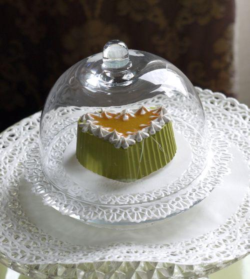 cuorellino verde con marmellata