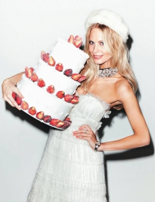 Wedding party con Poppy Delevigne su Elle
